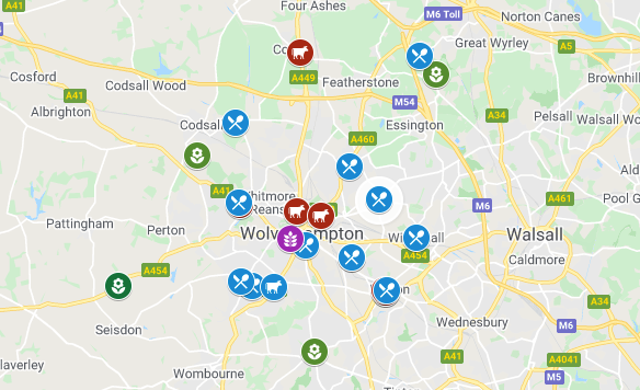 These are the Wolverhampton businesses we know are doing deliveries